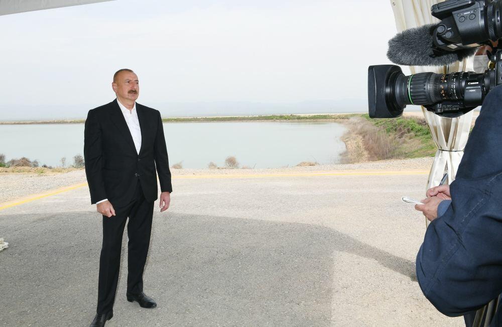 Prezident İlham Əliyev: Yaxın gələcəkdə Zəngilan rayonunda yeni hava limanının tikintisinə start veriləcək